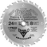FREUD 8 1/4 In. Diablo Framing Blade - 24 Teeth