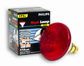 175W PAR38 Heat Lamp Clear Hard Glass