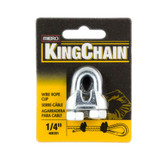 1/4 In. Wire Rope Clip - Carded