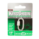 1/8 In. Quick Link-Stainless Steel