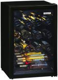 52 Bottle Wine Cooler Black