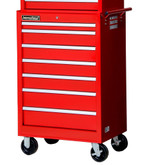 27 Inch 7 Drawer Red Tool Cabinet