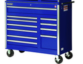 42 Inch 11 Drawer Blue Tool Cabinet