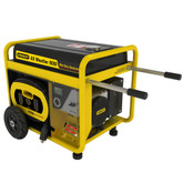 8000 Watt All Weather Electric Start Generator with Removeable Control Panel and 18hr Run Time