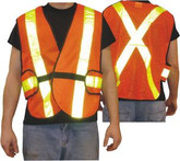 5 Point Tear Away Traffic Vest