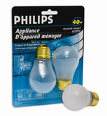 40W Appliance Bulb Frost 2Pk