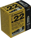 22 Cal. Single Shot Yellow Load, 100 Pack