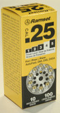 25 Cal Disc Load (D-60), 100 Pack
