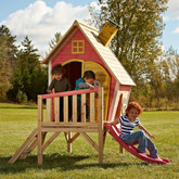 Hide-N-Slide Playhouse