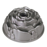 Rose Cast Aluminum Bundt Pan