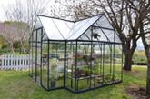 Deluxe Garden Chalet Greenhouse