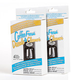 CoffeeFresh Descaler & Cleaner - 2 Pack