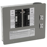 50-Amp 12,500-Watt Indoor Manual Transfer Switch for 12-16 Circuits