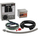 30-Amp Indoor Transfer Switch Kit for 6-10 Circuits