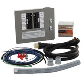 50-Amp Generator Transfer Switch Kit for 12-16 Circuits for Indoor Applications