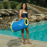 Handy Tote for Pool Floats - Blue