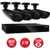 Defender - Home Security System - 4CH, WS/HDMI, 2TB + 4 x WS 800TVL, 48IR LED