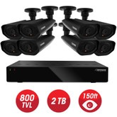 Defender - Home Security System - 8CH, WS/HDMI, 2TB + 8 x WS 800TVL, 48IR LED