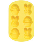 Silicone Mini Bunny and Basket Mold