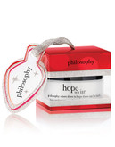 Philosophy Hope in a Jar Ornament - White - 15 ml