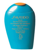 Shiseido Suncare Gentle Sun Protection Lotion Spf33 - No Colour