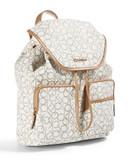 Calvin Klein Monogrammed Backpack