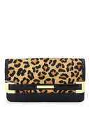 Anne Klein Hear Me Roar medium clutch Mini Bag - Brown