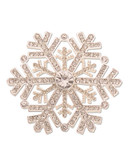 Jones New York Boxed Snowflake Pin - Silver