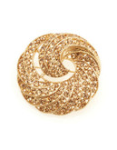 Jones New York Boxed Gold Cry Swirl Pin - Multi-Coloured
