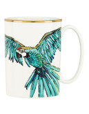 Kate Spade New York Zoo Drive Parrot Mug - Turquoise