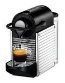 Nespresso Pixie Steel Chrome - Grey
