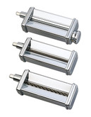 Kitchenaid 3 Piece Pasta Roller and Cutter Set - Stainless Steel
