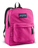 Jansport Superbreak Backpack - Fluorescent Pink