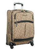 Calvin Klein Madison Signature 20 inch Suitcase - Khaki - 21