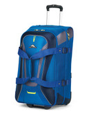 High Sierra 26 Inch Wheeled Duffel with Backpack Straps blue - Blue - 26