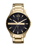Armani Exchange Men's Gold watch - Gold