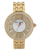 Betsey Johnson Goldtone Stainless Steel Watch - Gold