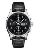 Hamilton Mens Jazzmaster Maestro Auto Chrono Watch - Black