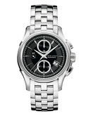 Hamilton Mens Jazzmaster Auto Chrono Stainless Steel Watch - Silver