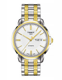 Tissot Mens Automatic III Standard Watch - Two Tone
