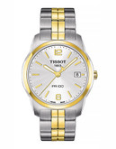 Tissot Mens PR100  Quartz T0494102201700 - Two Tone