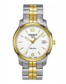 Tissot Mens PR100 Standard Watch - Two Tone