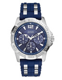 Guess Guess Mens Blue Sport Watch - Blue