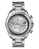 Timex Men's Intelligent Quartz Aviator Fly-Back Chronograph Watch - Silver