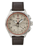Timex Intelligent Quartz Linear Indicator Chronograph - Brown