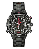 Timex Men's Intelligent Quartz Tide Temp Compass Watch - Black
