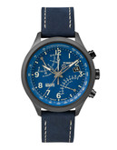 Timex Intelligent Quartz Fly Back Chronograph Watch - Blue