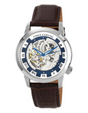 """""""Vince Camuto """"""""Executive"""""""" Watch in silver/brown - Silver"""""""