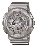 Casio Baby G Watch - Silver