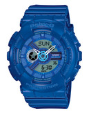 Casio Womens Baby G Oversized AnaDigi Watch - Blue